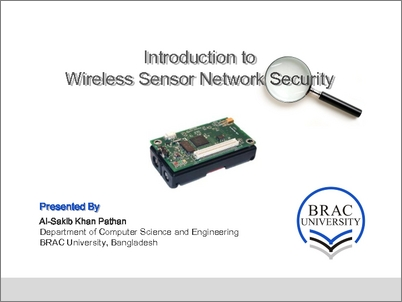 thesis wireless sensor networks security